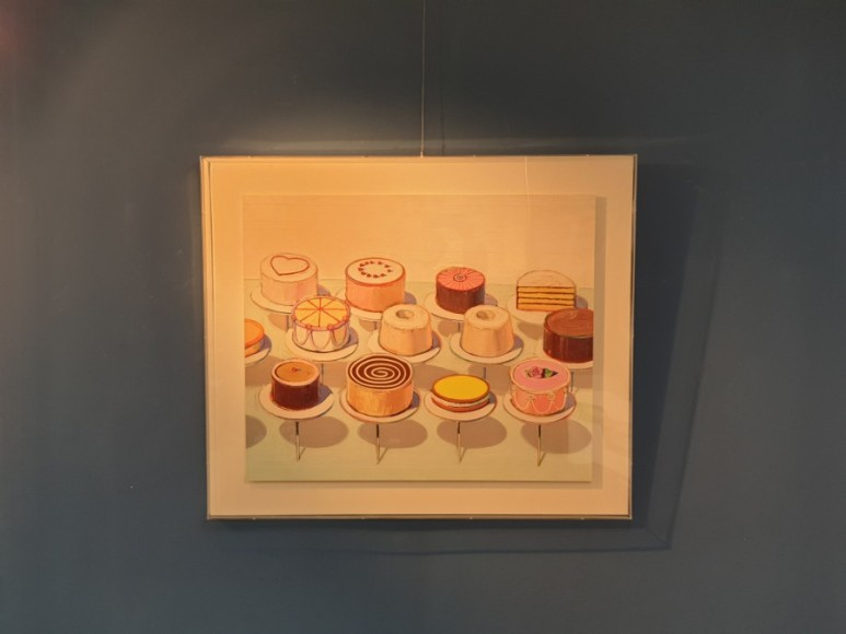 웨인 티보 Wayne Thiebaud - Cake.1963