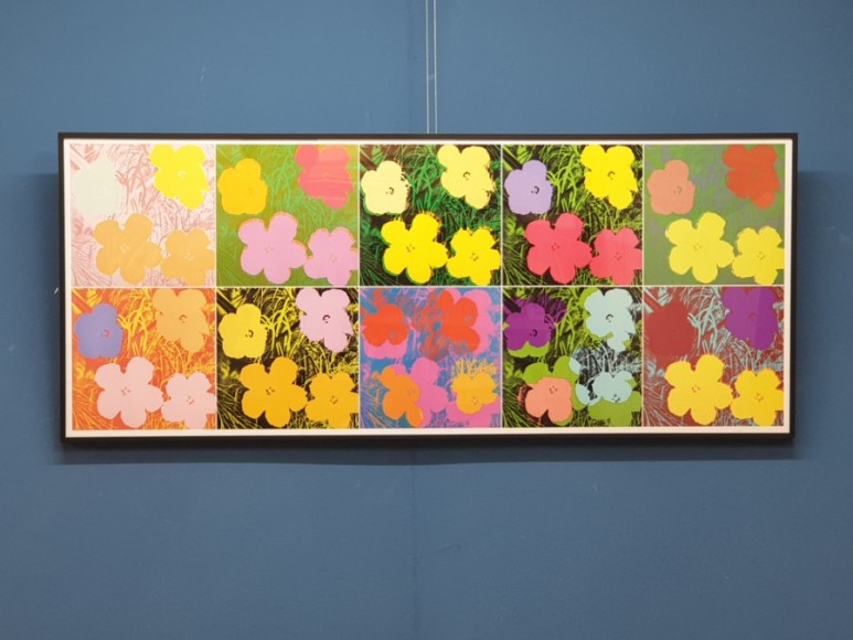 앤디 워홀  Andy Warhol - Flower