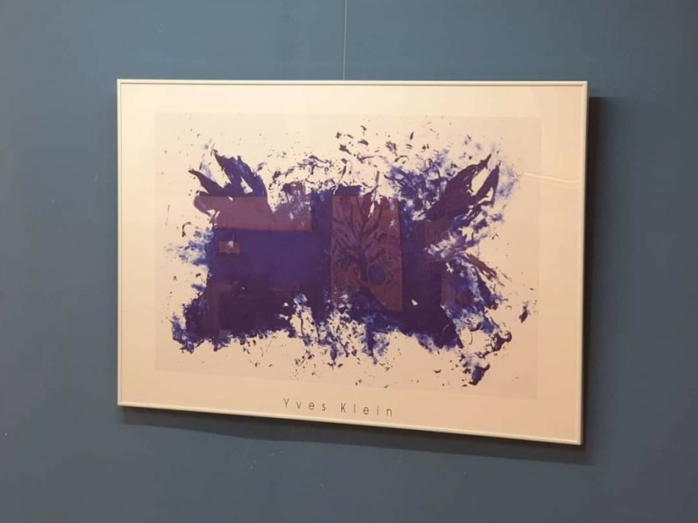 이브 클라인  YVES KLEIN - Hommage a Tennessee Williams.1960