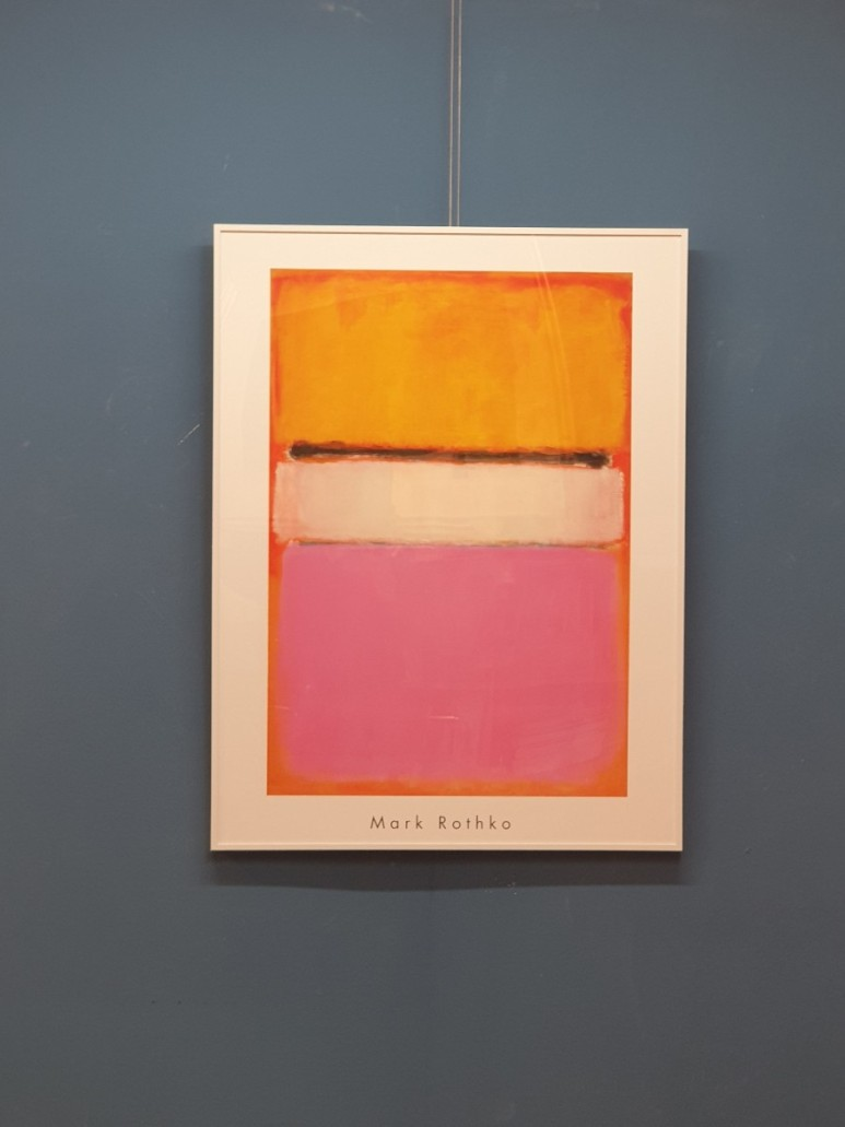 마크 로스코 - Yellow, Pink, and Lavender, on Rose , 1950