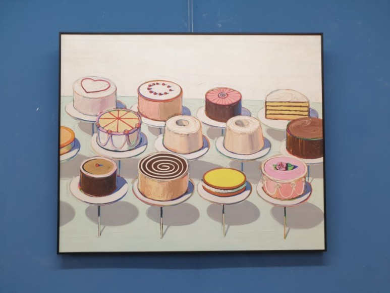 웨인 티보 Wayne Thiebaud - Cake ,1963